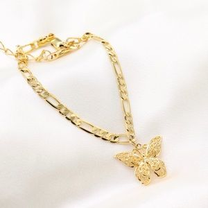 Jewelry - Butterfly Anklet